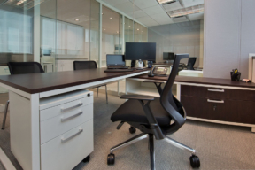 Lateral Filing Cabinet in Office Space