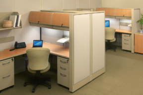 Mobile pedestal storage for the office