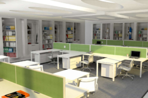 Rotary Storage in the Open Office