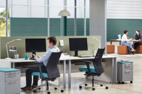 Mobile File Cabinet for the Aglie Workplace