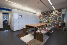 Workplace Touchless Lockers - RFID Locks - Workplace break room